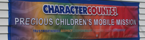 Character Counts - Precious Children Mobile Mission